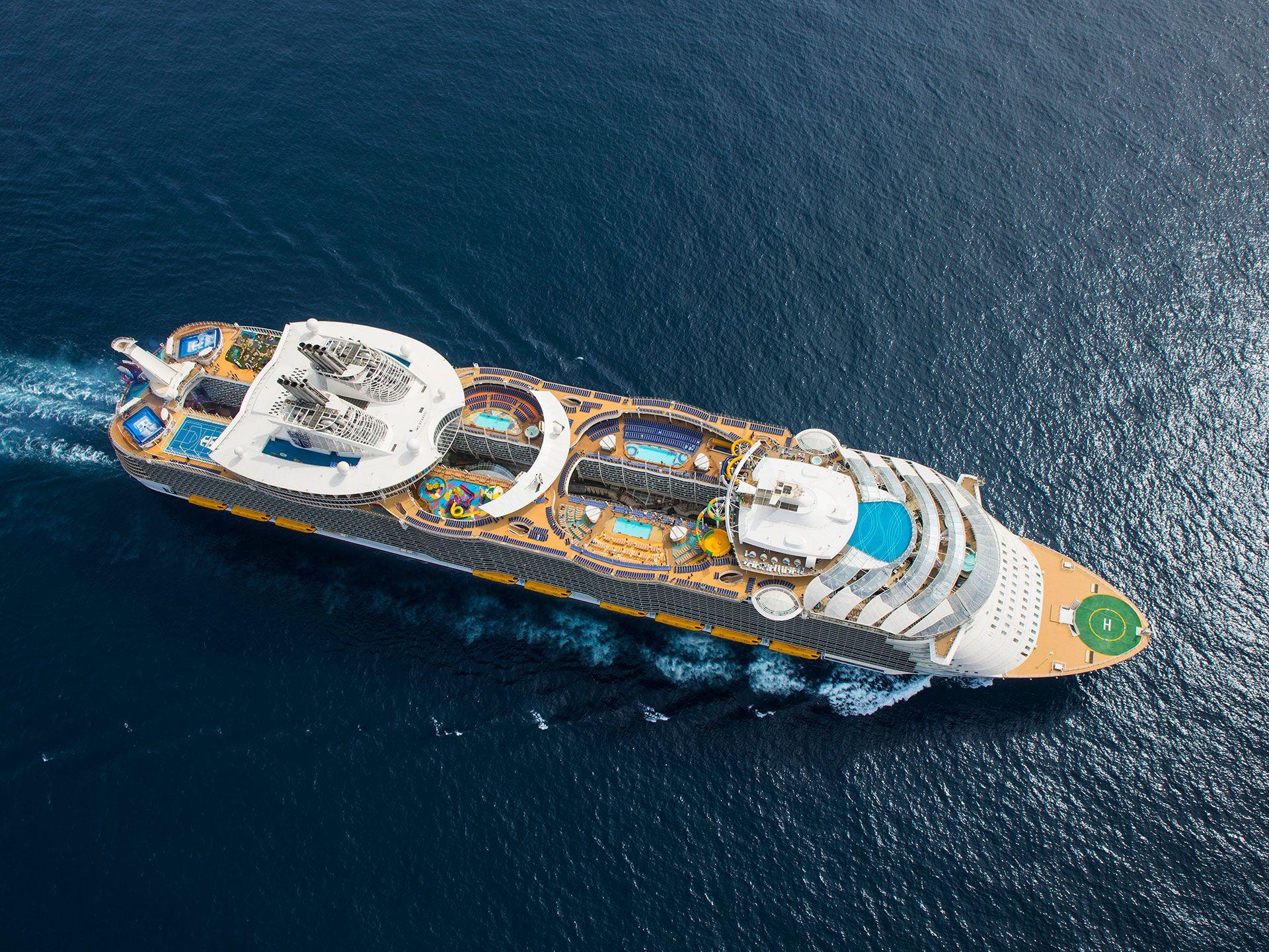 世界最大客船シンフォニー・オブ・ザ・シーズ