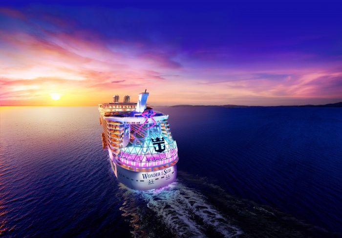 新造船ワンダー 地中海へ